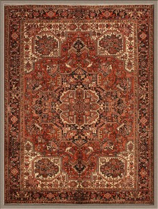 Old Persian Heris Rug