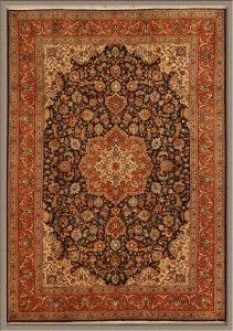 Dark colored Persian Tabriz