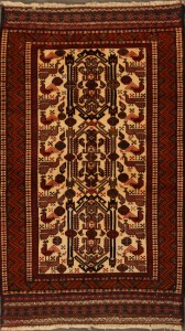 A Typical Persian Balouch Rug